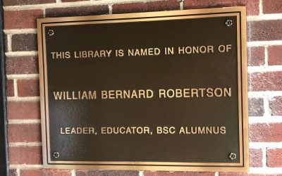 William B. Robertson's Life