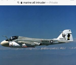 Marine A-6 Intruder